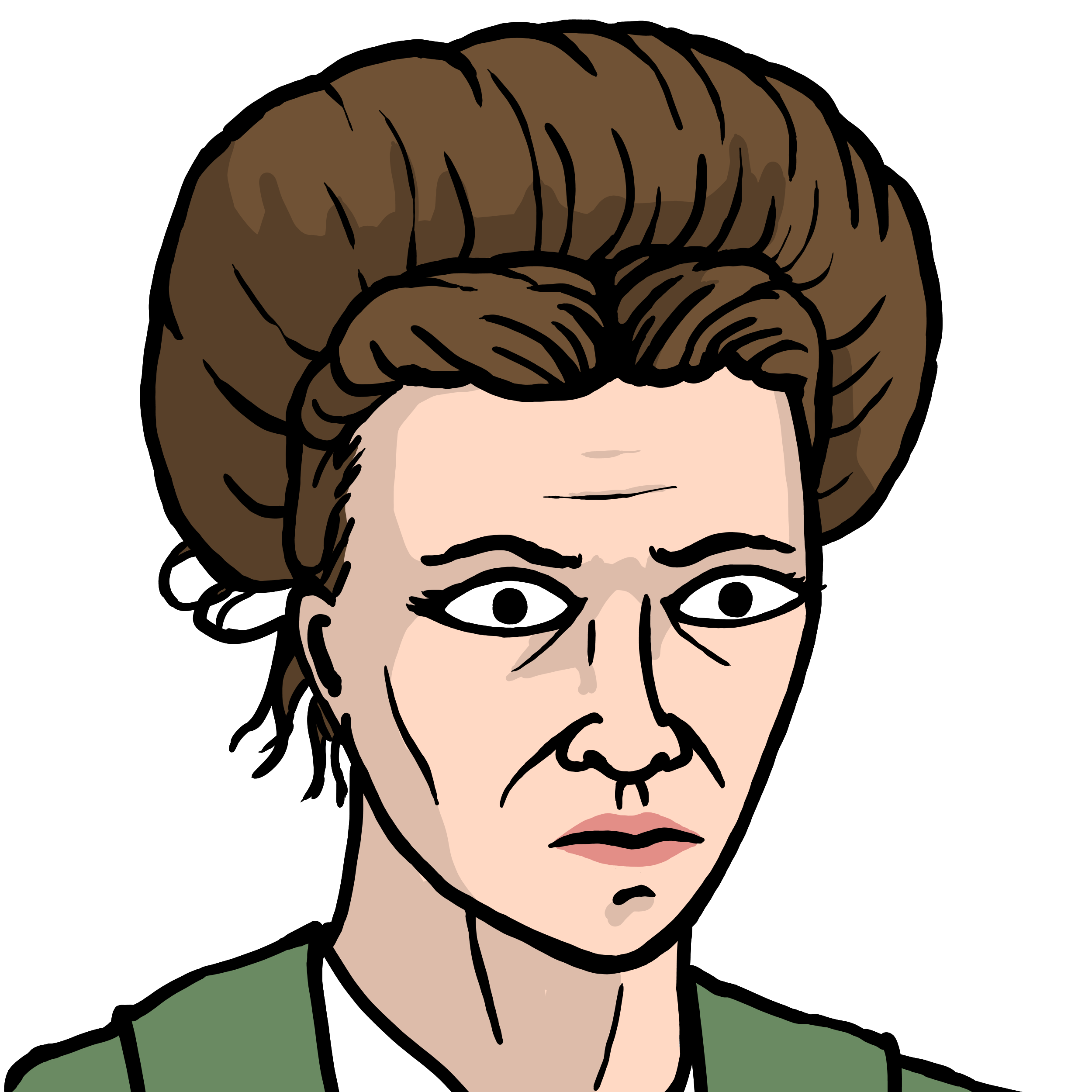 Existential Comics' Beauvoir Icon