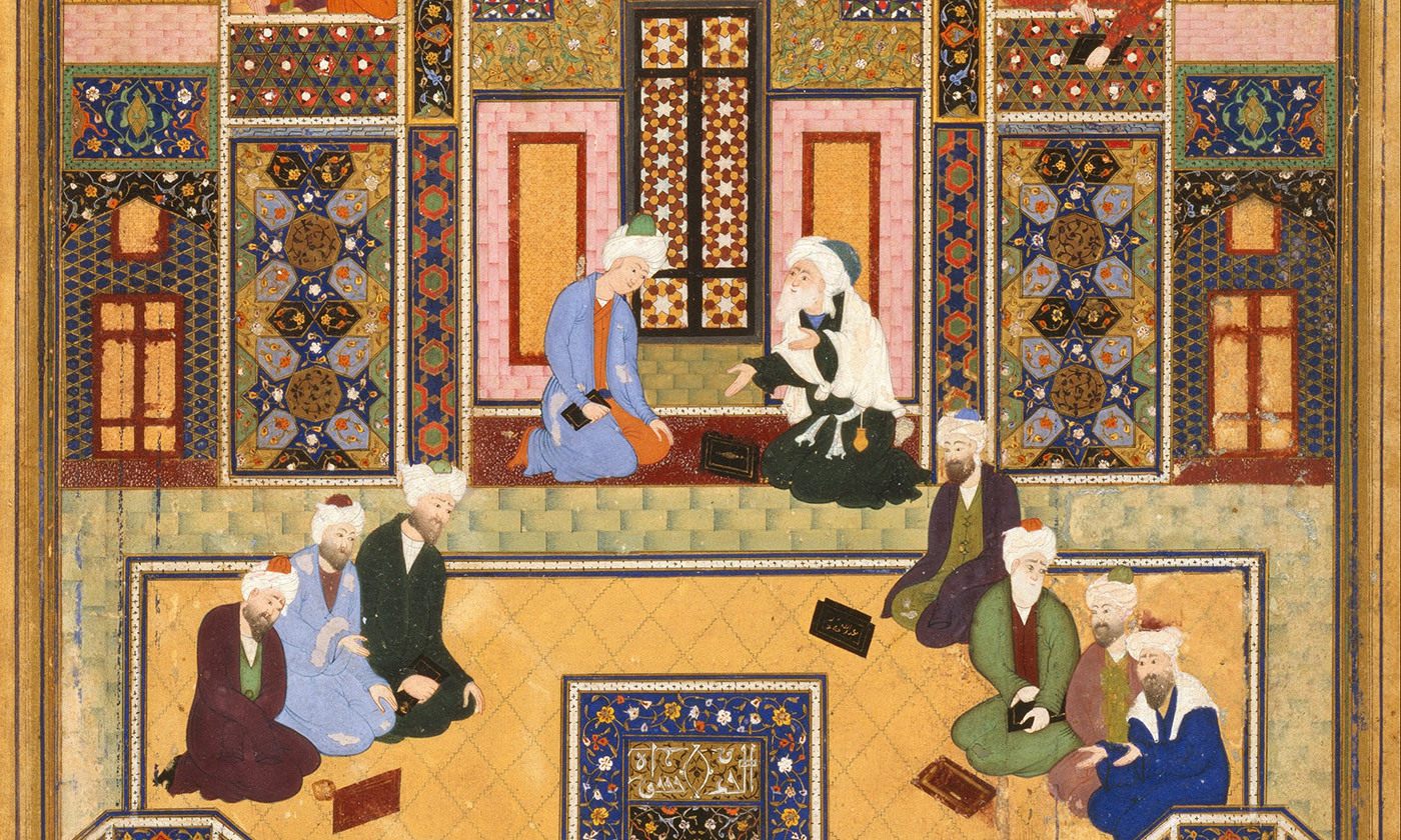 Picture of The Meeting of the Theologians by Abd Allah Musawwir