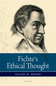 Picture of book on Fichtes Ethical Thought