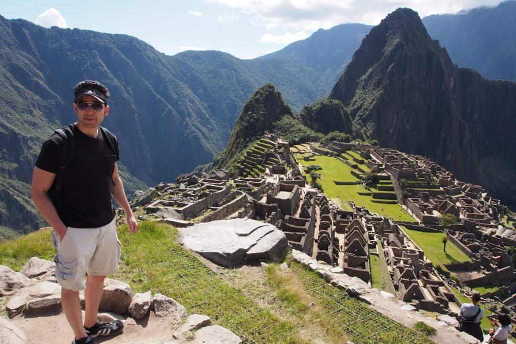 Sebastian Purcell in Machu Picchu