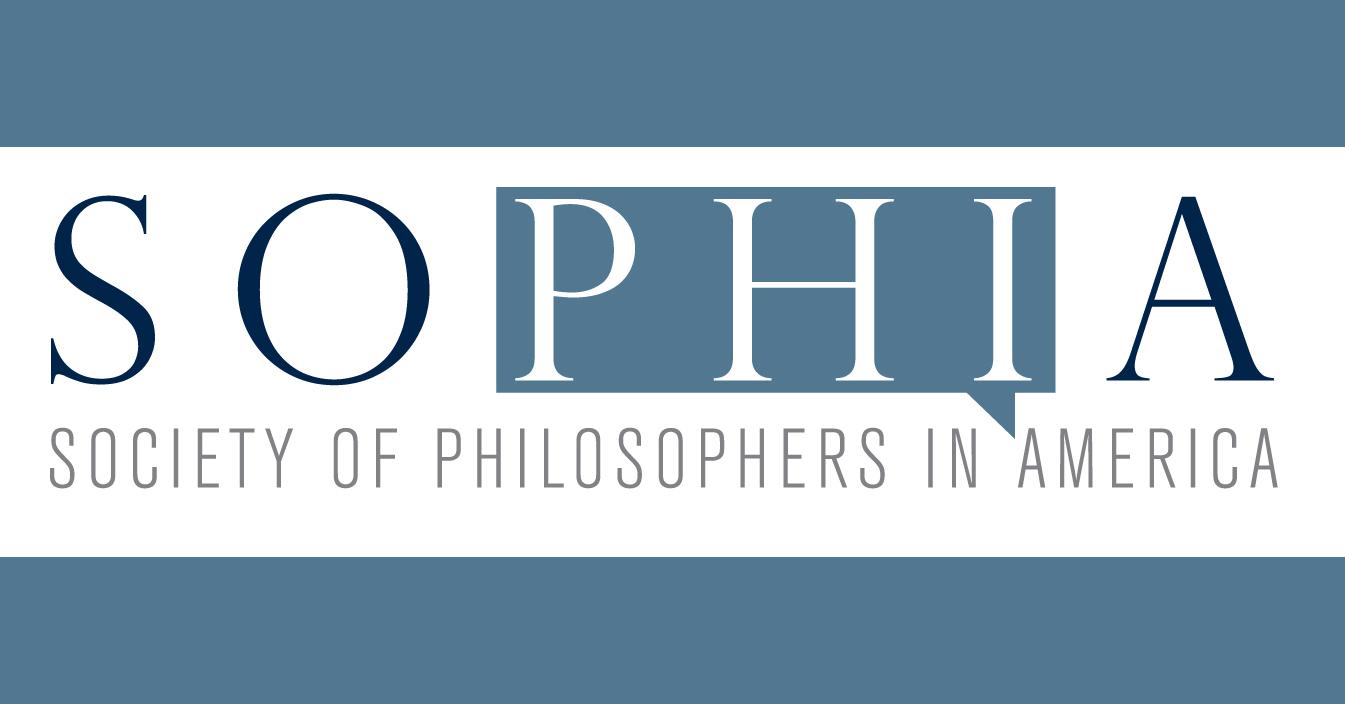SOPHIA: Society of Philosophers in America logo