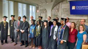 UAlbany Philosophy Department graduation ceremony