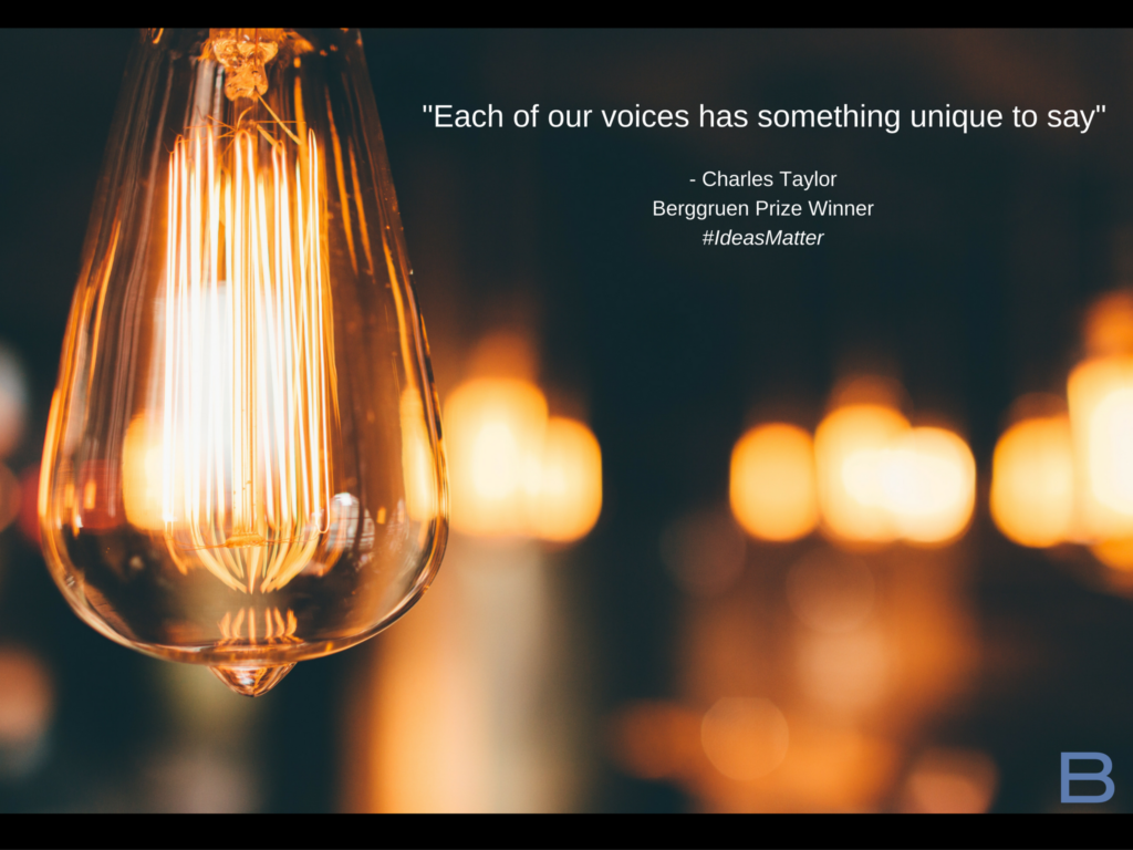Picture of Charles Taylor quote and lightbulb