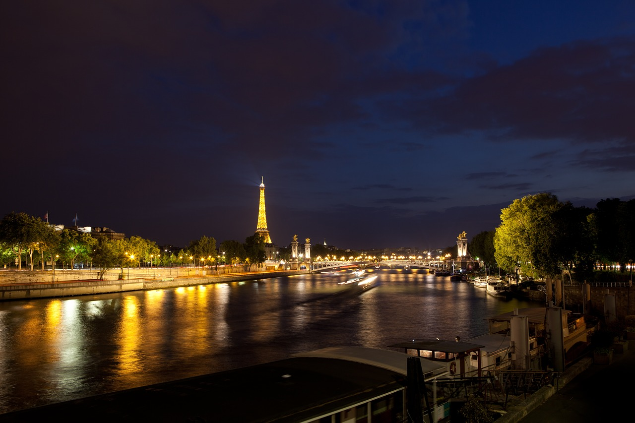 Photo of the Seine