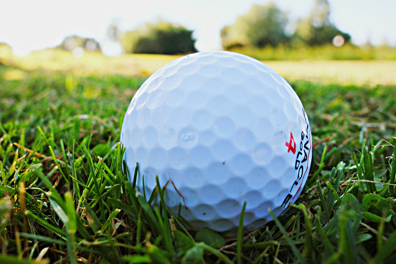 Photo of a golf ball