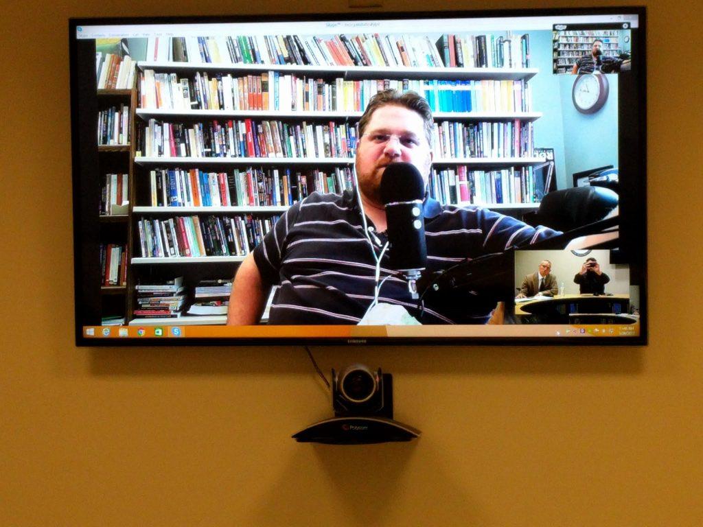 Philosophy Bakes Bread Skype Recording © Daniel Brunson