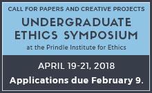 Prindle Undergraduate Ethics Symposium