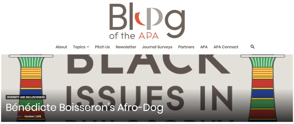 A New Design for the APA Blog